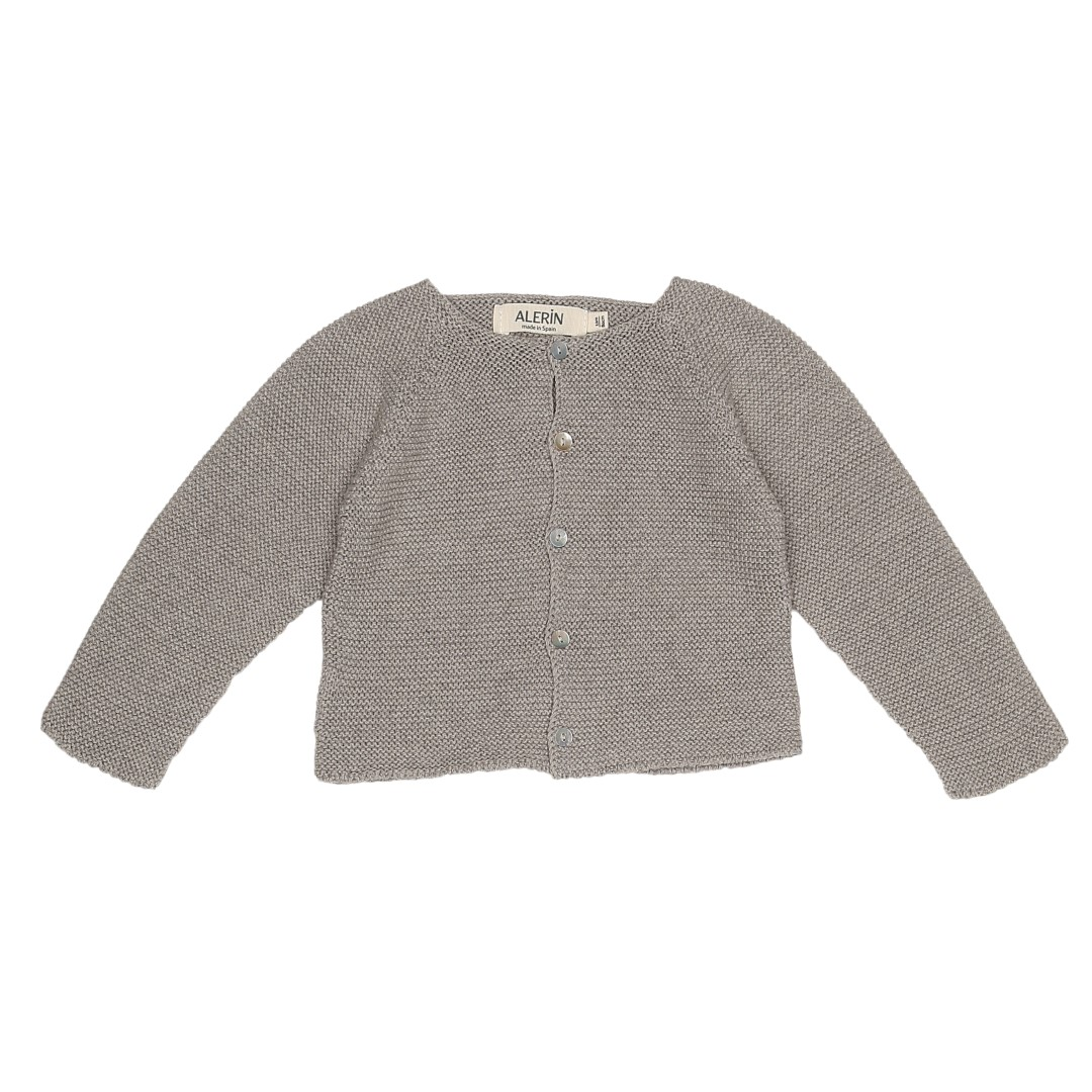 Soria cardigan in grey cotton