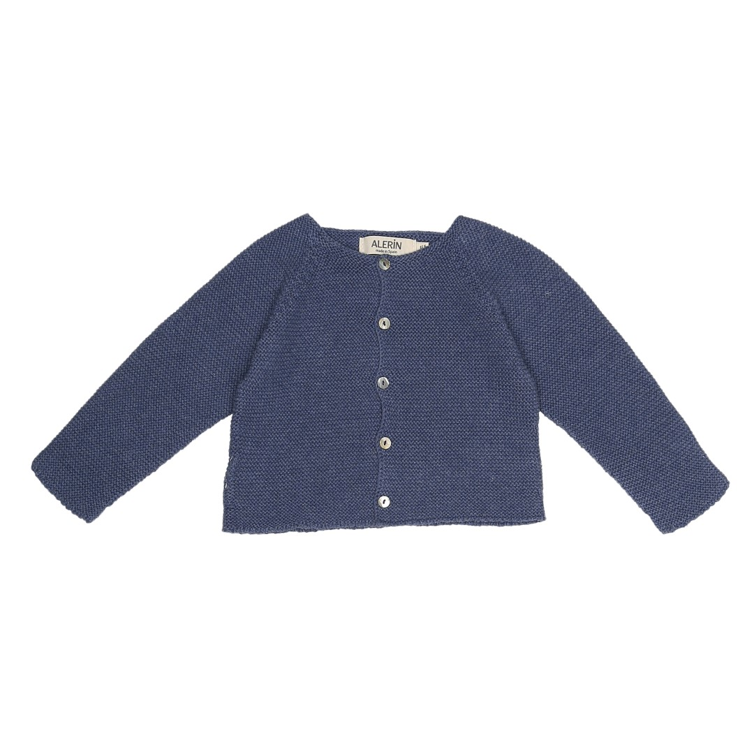 Soria cardigan in blue cotton
