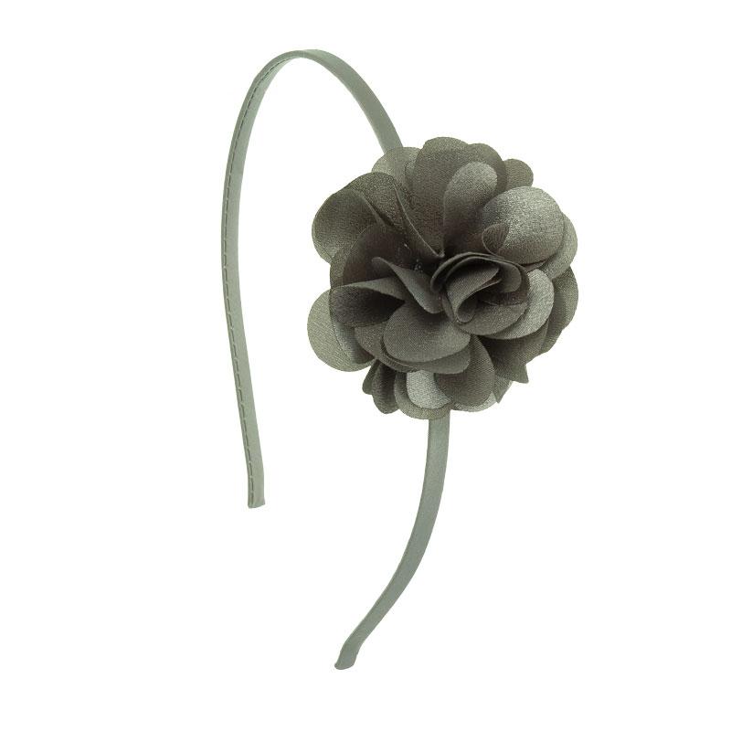 Hårbøjle Blomst Grå