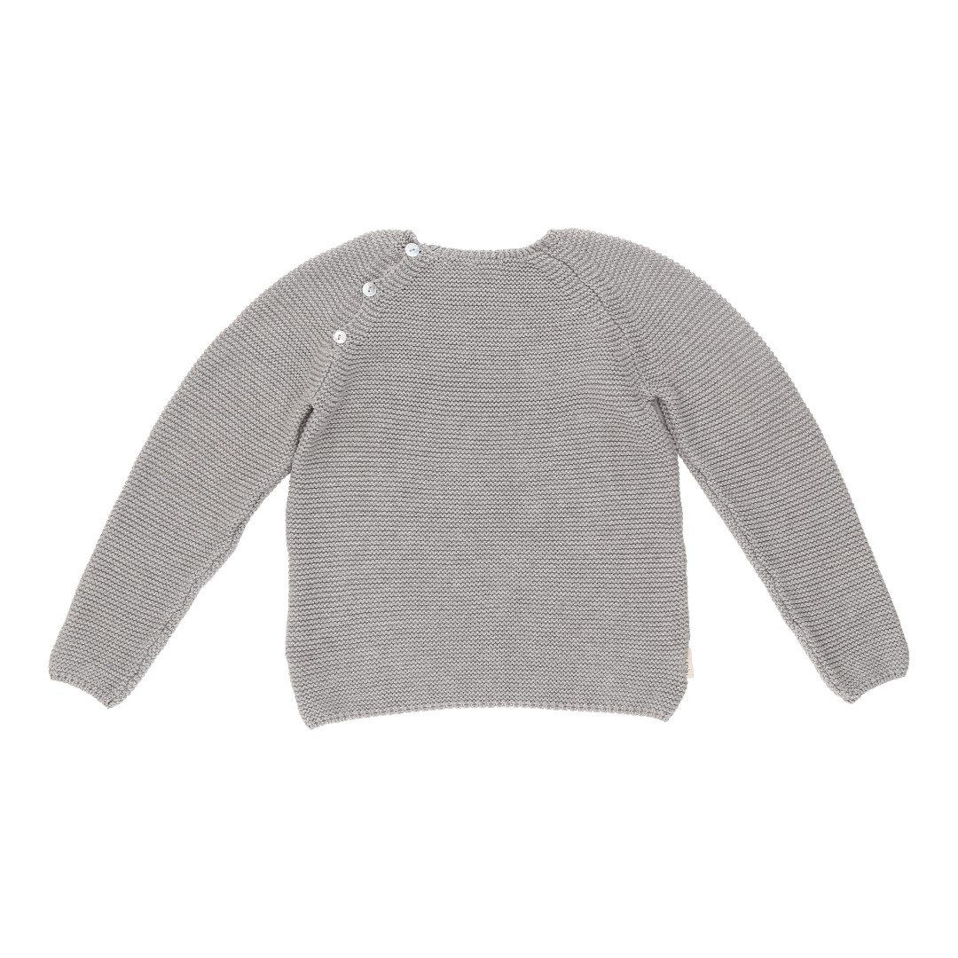Soria sweater grey cotton