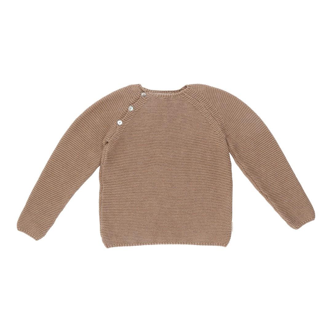 Soria sweater brown cotton