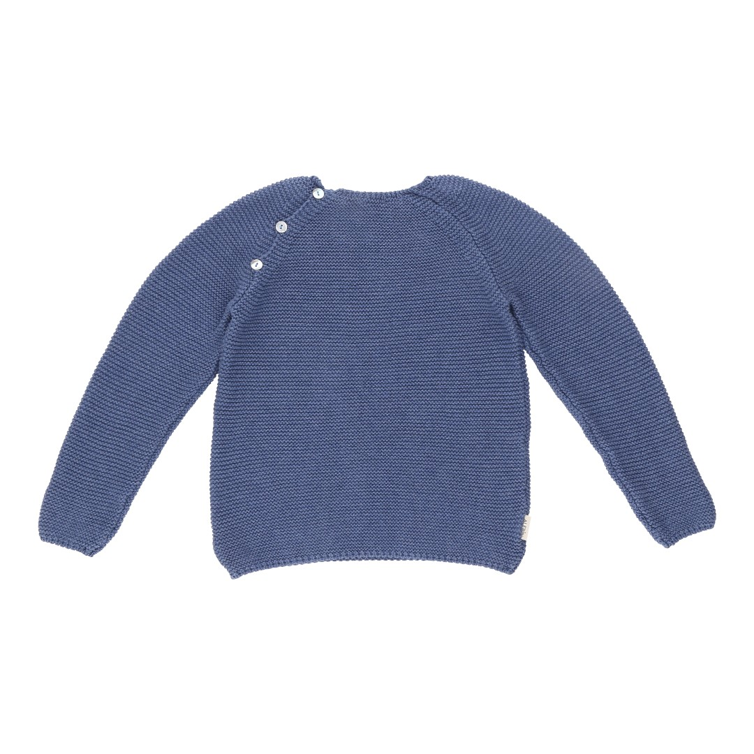 Soria sweater blue cotton