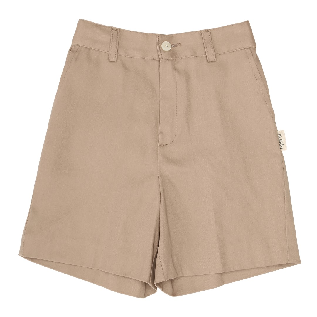 Arosa shorts with pockets in camel color