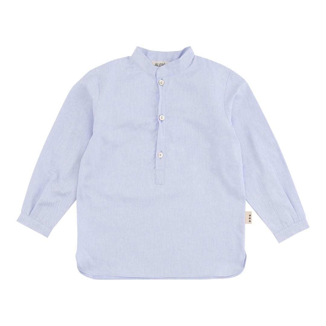 Oropesa Mao skjorte i blå bomuld