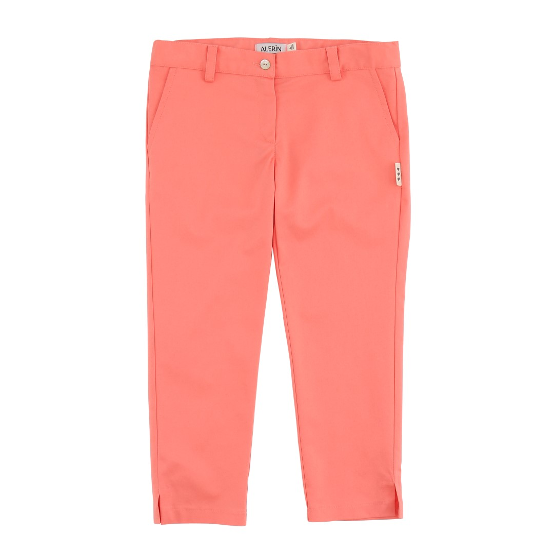 Uma trousers in coral color