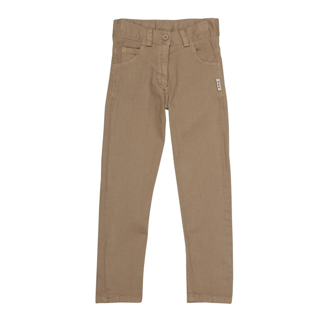 Max drengebukser i khaki farve