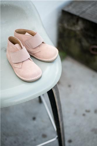 Desert Boots Suede Rose