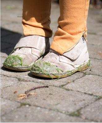 Desert Boots Suede Brown + Buks Elinor Sennepsgul