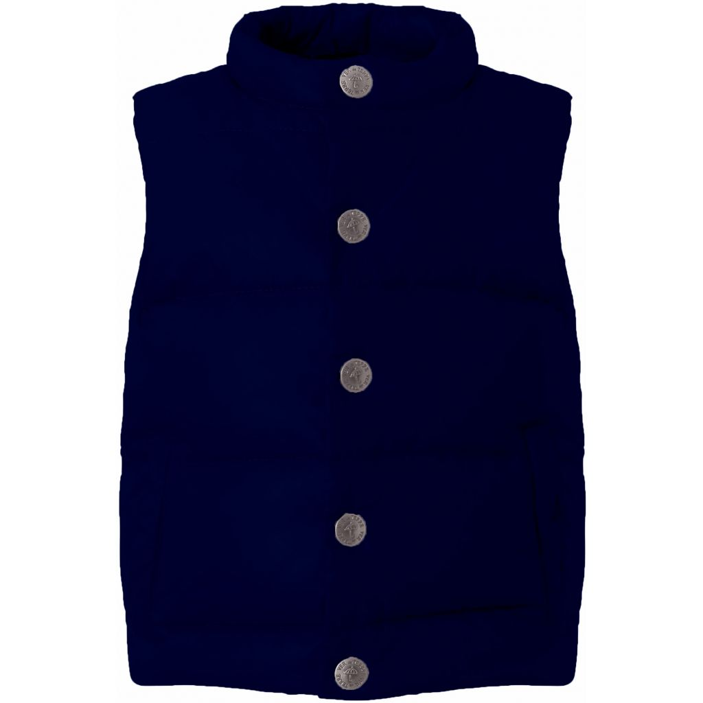 Image of   Vest Fjerlet Navy