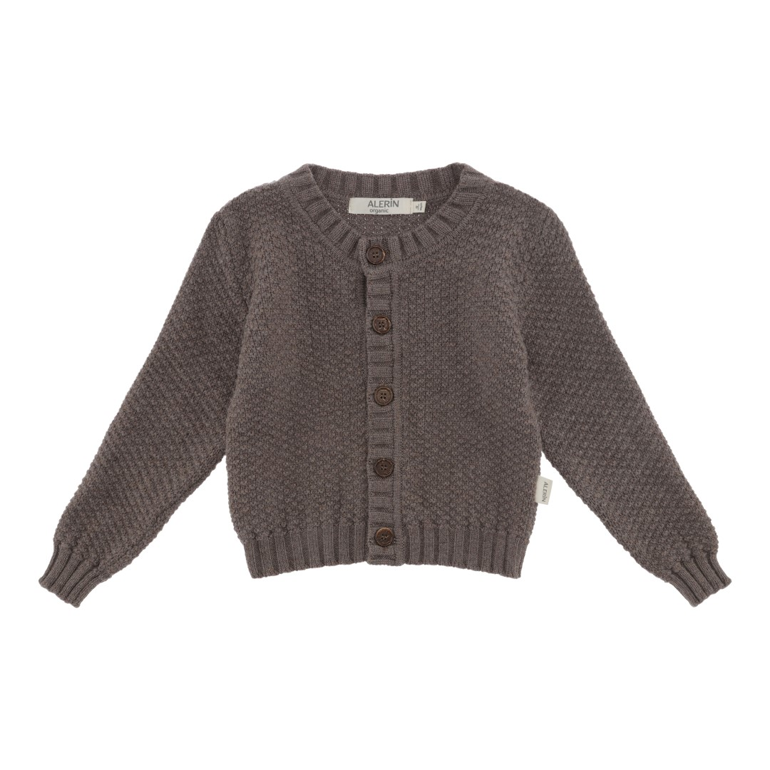 Image of   Cardigan nr. 1 Merino Brown